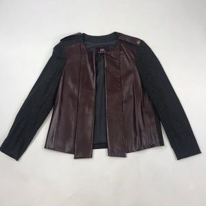 Rachel Roy Leather Blazer